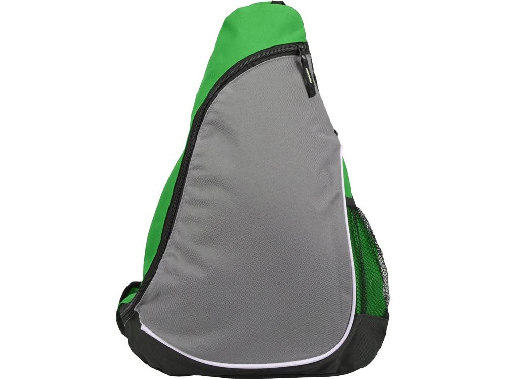 Рюкзак Спортивный, зеленый/серый - фото 4