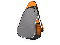 Рюкзак Спортивный, оранжевый/серый