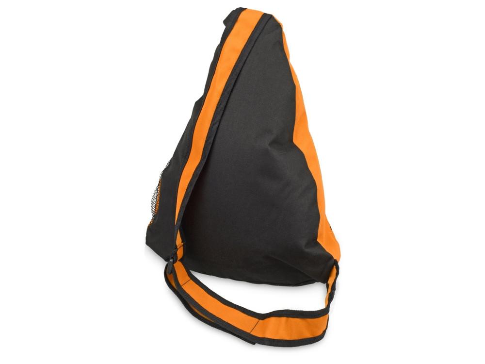 Рюкзак Спортивный, оранжевый/серый - фото 2