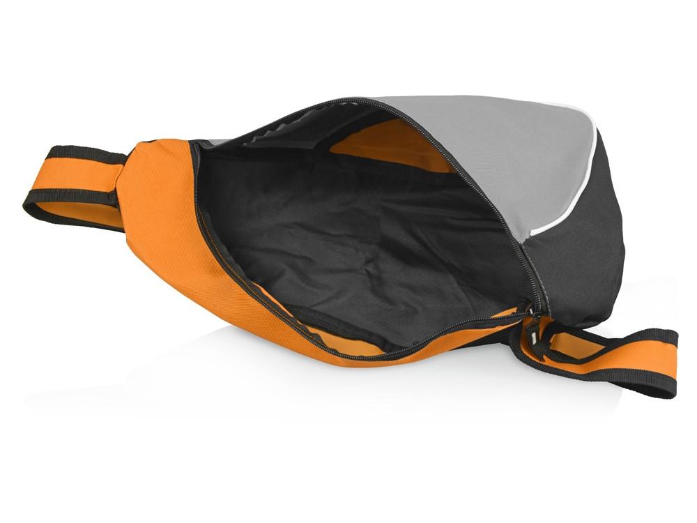 Рюкзак Спортивный, оранжевый/серый - фото 3