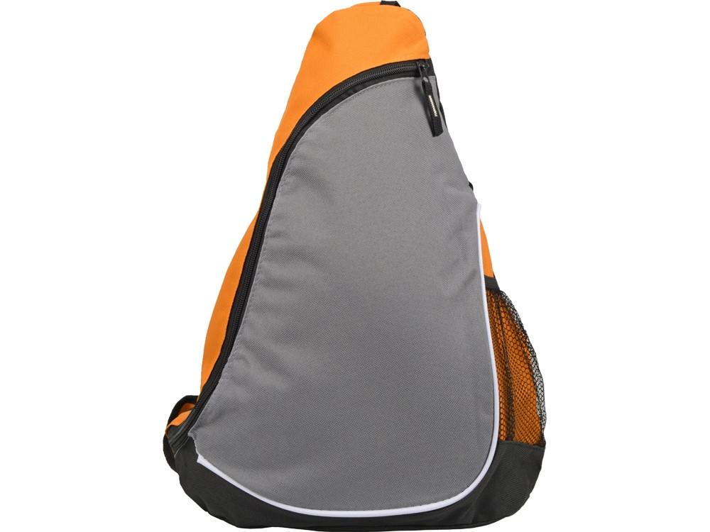 Рюкзак Спортивный, оранжевый/серый - фото 4