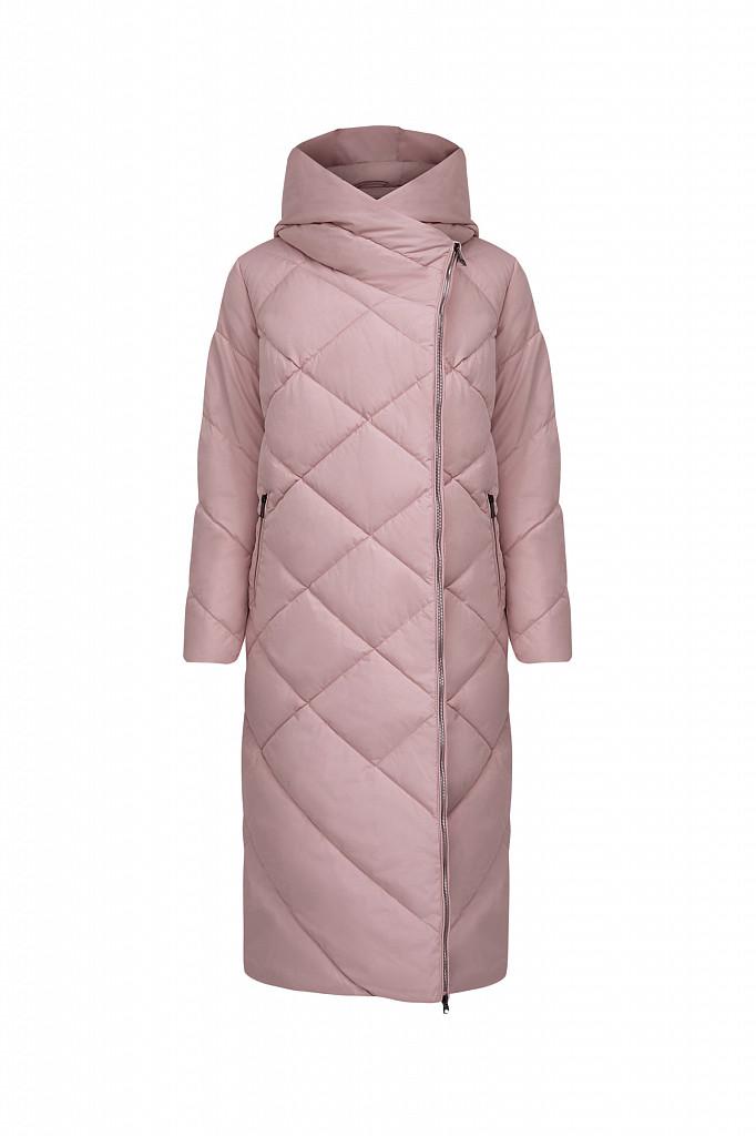 Пальто женское Finn Flare, цвет серо-розовый, размер L - фото 8