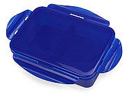 Герметичный ланч-бокс Foody с двумя секциями, 650мл, синий, фото 2