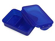 Герметичный ланч-бокс Foody с двумя секциями, 650мл, синий, фото 3