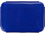 Герметичный ланч-бокс Foody с двумя секциями, 650мл, синий, фото 4