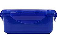 Герметичный ланч-бокс Foody с двумя секциями, 650мл, синий, фото 6