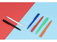 Ручка пластиковая шариковая  UMA Happy, белый, фото 2