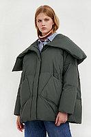 Куртка женская Finn Flare, цвет темно-зеленый, размер XL/2XL