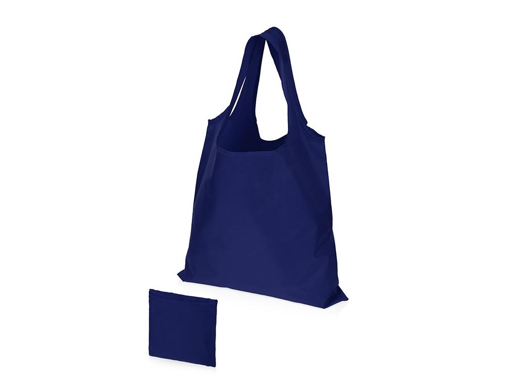 Складная сумка Reviver из переработанного пластика, синий