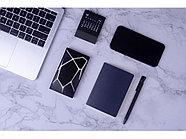 Портативное беспроводное зарядное устройство Geo Wireless, 5000 mAh, черный, фото 4