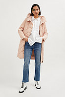Пальто женское Finn Flare, цвет миндальный, размер XL