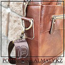 Мужская сумка (портфель)для ноутбука BULLCAPTAIN натуральная кожа 100%, фото 2