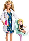 Кукла barbie you can be anything - дантист. Оригинал, фото 4
