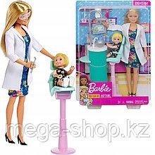 Кукла barbie you can be anything - дантист. Оригинал