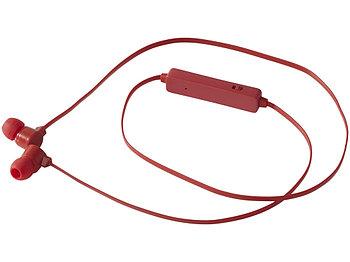 Цветные наушники Bluetooth®, красный