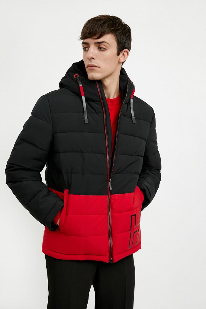 Куртка мужская Finn Flare, цвет черный, размер M - фото 1