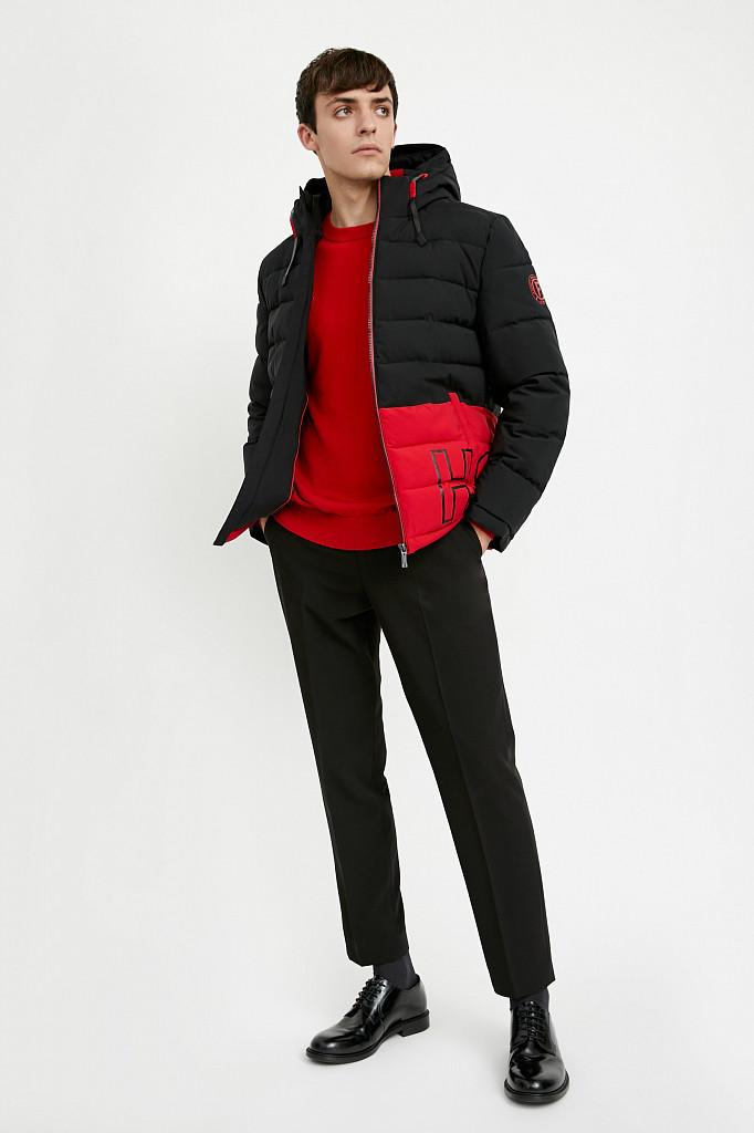 Куртка мужская Finn Flare, цвет черный, размер M - фото 2