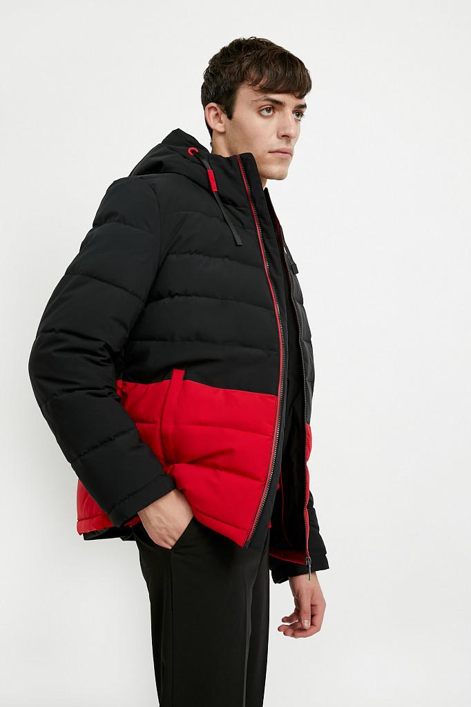 Куртка мужская Finn Flare, цвет черный, размер M - фото 3