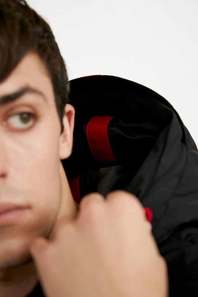 Куртка мужская Finn Flare, цвет черный, размер M - фото 4