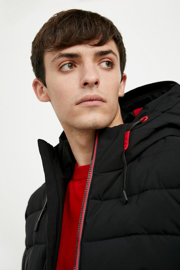 Куртка мужская Finn Flare, цвет черный, размер M - фото 7