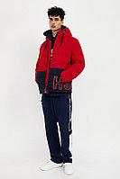 Куртка мужская Finn Flare, цвет красный, размер 2XL