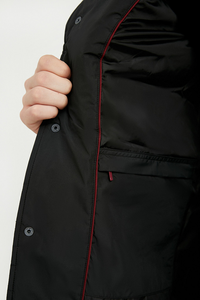 Куртка мужская Finn Flare, цвет черный, размер 3XL - фото 3