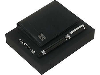 Набор Cerruti 1881: портмоне, ручка-роллер