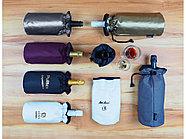Охладитель для бутылки вина Keep cooled из ПВХ в виде мешочка, черный, фото 3