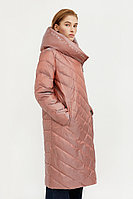 Пальто женское Finn Flare, цвет светло коричневый, размер S