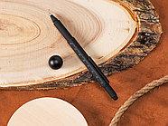 Ручка шариковая металлическая Tool, черный. Встроенный уровень, мини отвертка, стилус, фото 9
