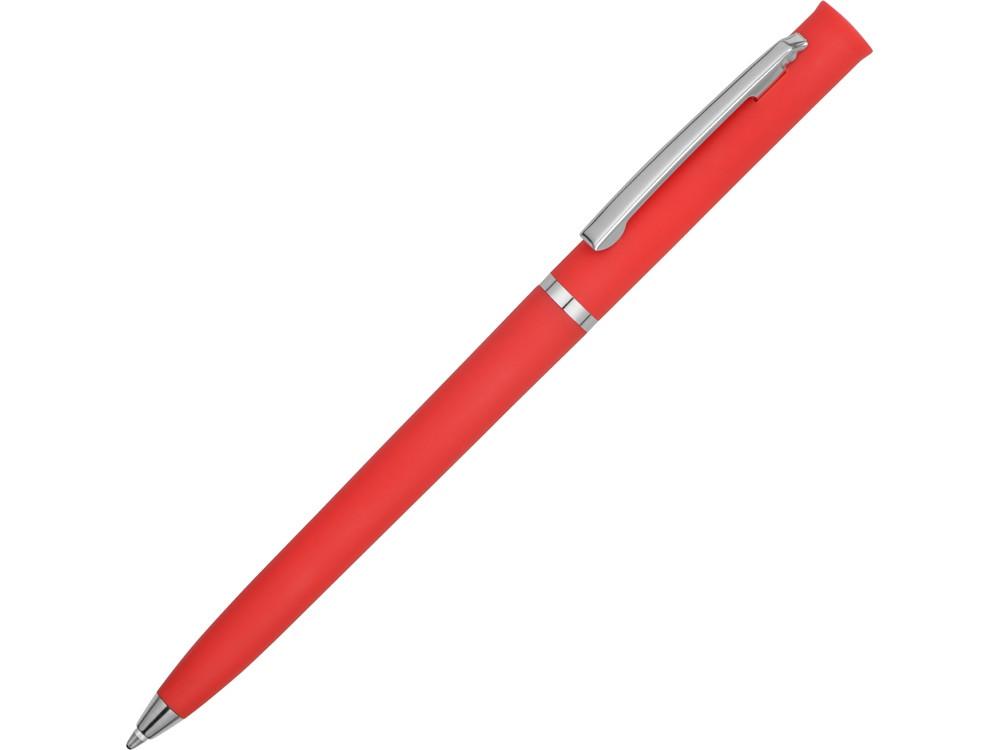 Ручка шариковая Navi soft-touch, красный