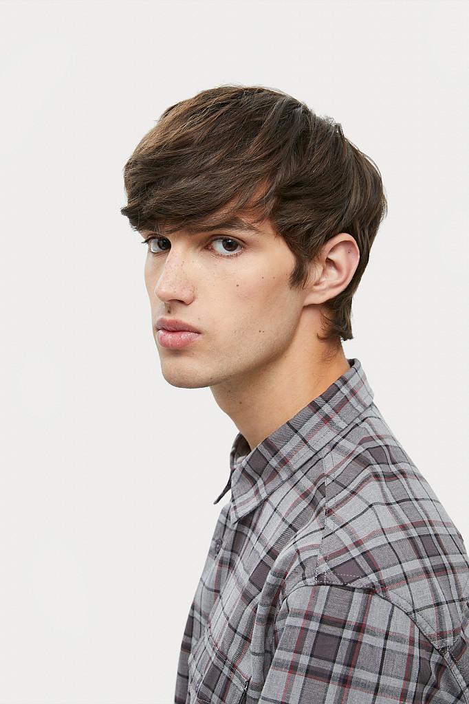 Рубашка мужская Finn Flare, цвет серый, размер 2XL - фото 6