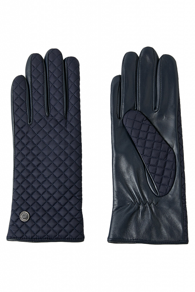 Перчатки женские Finn Flare, цвет темно-синий, размер - фото 1