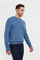 Джемпер мужской Finn Flare, цвет серо-голубой, размер S