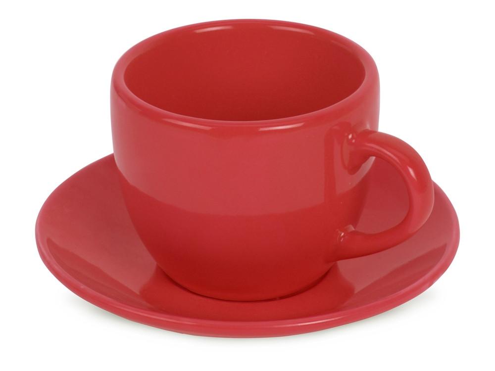 Чайная пара Melissa керамическая, красный