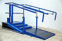 Лестница-брусья с электронной регулировкой высоты ступеней «Альтерстеп»