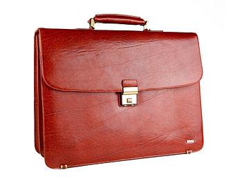 Портфель Diplomat, рыжий
