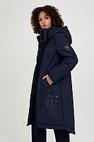 Пальто женское Finn Flare, цвет темно-синий, размер XL