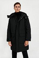 Пальто мужское Finn Flare, цвет черный, размер XS