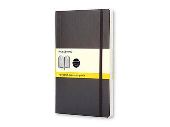 Записная книжка Moleskine Classic Soft (в клетку), Large (13х21см), черный