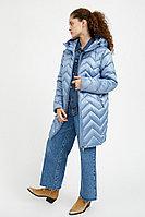 Полупальто женское Finn Flare, цвет голубой, размер 5XL