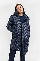 Полупальто женское Finn Flare, цвет темно-синий, размер XL