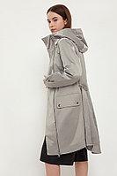 Плащ женский Finn Flare, цвет светло-серый, размер 3XL