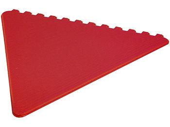 Треугольный скребок Frosty, красный