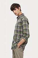 Верхняя сорочка мужская Finn Flare, цвет хаки, размер XL