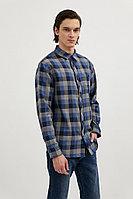 Верхняя сорочка мужская Finn Flare, цвет темно-синий, размер 3XL