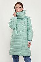 Пальто женское Finn Flare, цвет светло-зеленый, размер 2XL