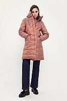 Пальто женское Finn Flare, цвет серо-розовый, размер 3XL