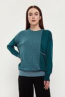 Джемпер женский Finn Flare, цвет изумрудный, размер 2XL