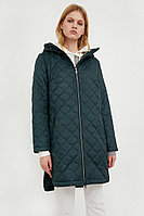 Пальто женское Finn Flare, цвет светло зеленый, размер L